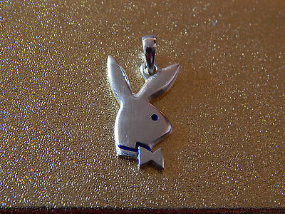 Playboy Pendant . 925 Sterling Silver