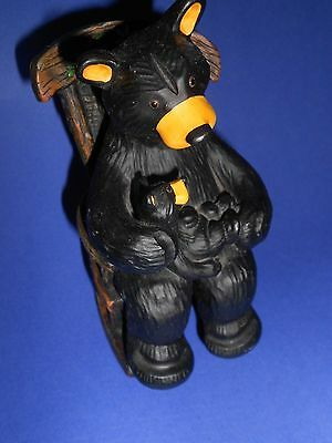 BEARFOOTS BEAR  BY JEFF FLEMING - Cuddle Time Cub & Rocking Chair-CUTE