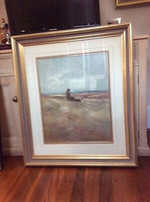 """""""Autumn Days"""" Original Oil Painting. By Peter Fennell?"""