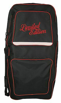 Limited Edition Pro Double Bodyboard Bag - Black & Red