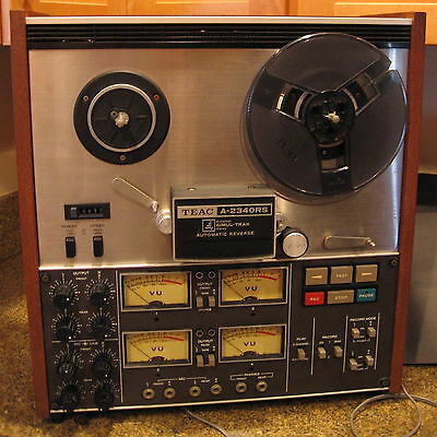TEAC A-2340RS 4 Channel Stereo Tape Deck Used