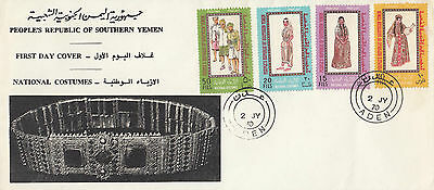 F 257  PRSY First Day Cover 2 July1970 National Costumes