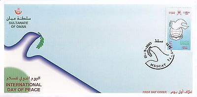 F 682 Oman September 2003 Year of Peace First Day Cover
