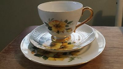 Vintage Westminster Australian China tea cup, plate and saucer set