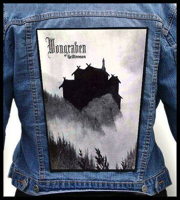 WONGRAVEN --- Giant Backpatch Back Patch / Mortiis Wardruna Lord Wind Storm