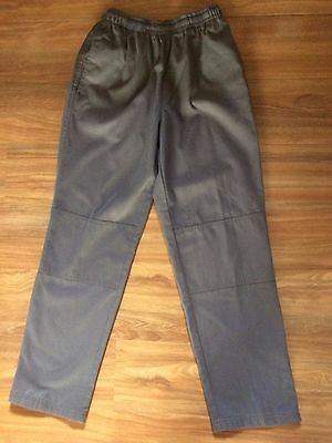 Midford Boys Size 12 Long Grey School Pants - Excellent Condition!