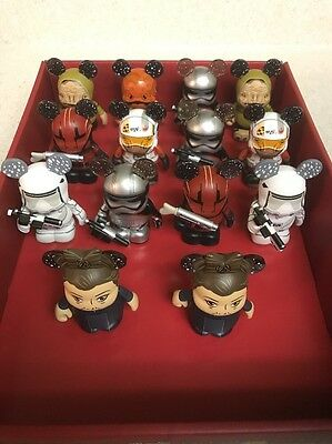 Vinylmation Lot Of 14 Star Wars Force Awakens Singles Plus 2 Chasers