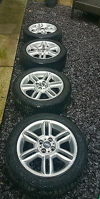 """GENUINE Mini Cooper 6.5J  16"""" Set Of 4 x Alloy Wheels NO TYRES INCLUDED."""