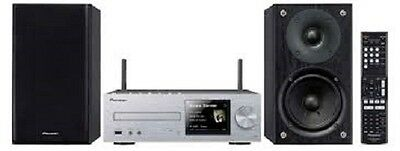 Pioneer X-HM72-S 2x50W Network Micro System with CD Player, Bluetooth, FM, USB