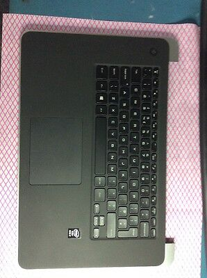 WXWC6 Dell XPS 15 9530 Palm rest Including U.K. Keyboard And Touchpad