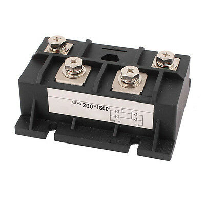 200A 1600V Diode Module Single Phase Bridge Rectifier MDQ-200A S8B5