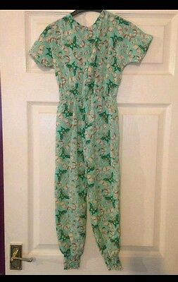 girls butterfly playsuit age 12 bnwt