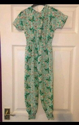 girls butterfly playsuit age 14 bnwt