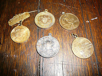 badges medals royal visit 1964 king george queen mary 1911 50 year commonwealth
