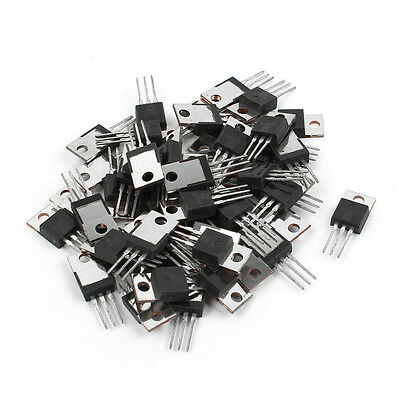 50 Pcs IRF740 TO-220 N-Channel Power MOSFET 400V 10A W9V3