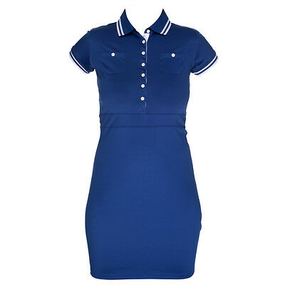 Tommy Hilfiger Michelle Solid Golf Dress Size M  RRP £90