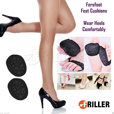 Cushion Insoles Support Pads 1x Pair Forefoot Cushions High Heels Pain Relief