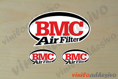PEGATINA STICKER VINILO BMC Air Filter autocollant aufkleber adesivi