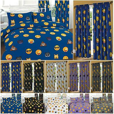 Emoji Duvet Cover Sets With Pillowcases King Size Double Single Super Bedding