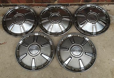 TOYOTA Crown 1968-1969..Hubcaps-Wheel Trims ..   hub caps .. Set of 5..,14""