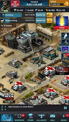 Mobile Strike Account 4 Billon Power See Details State USSE #39