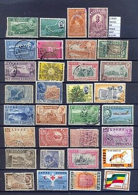 Stamps Lot Ethiopia  Used  (L14029)