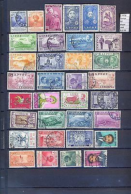 Stamps Lot Ethiopia  Used  (L14034)