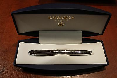 Waterman Edson Sterling Silver Limited Edition Fountain Pen