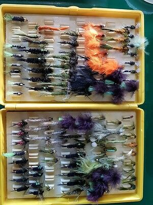 Fly fishing, assorted terminal tackle