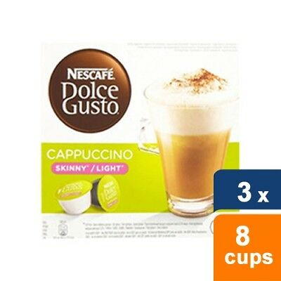Dolce Gusto Cappuccino Light 3 x 8