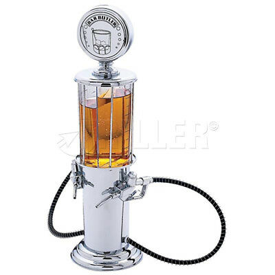 DUAL PUMP LIQUOR Gasoline Retro Wine Beer Alcohol Cocktail Shots Dispenser Bar