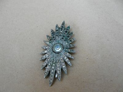 3 Stunning Items Vintage 2 Brooches 1 Dress Slip