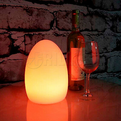 16 Colour Changing Mood Lamp Egg Light Waterproof IR Controller LED SMD 5050 RGB