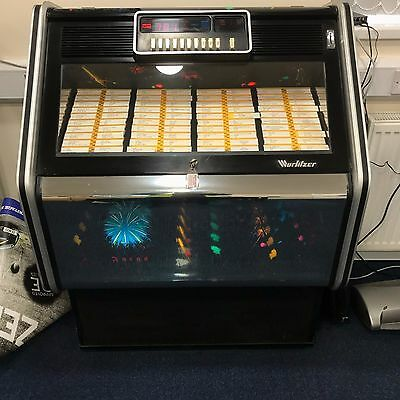 Wurlitzer Fuego Jukebox 1980's - Holds up to 80 Records - Good Condition