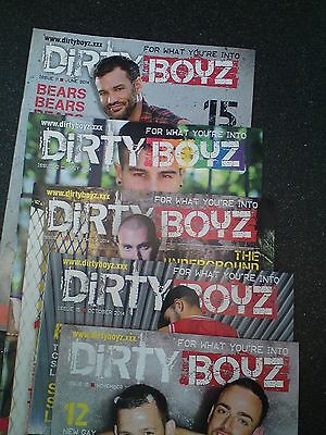 BOYZ 2014 Archive Collection Job lot Magazines Bundle,4 Mixed Issues