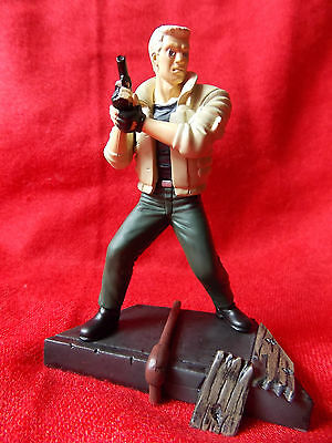 """Ghost in the shell BATOU / PVC SOLID Figure 3.8"""" 9.5cm RARE / UK DESPATCH"""