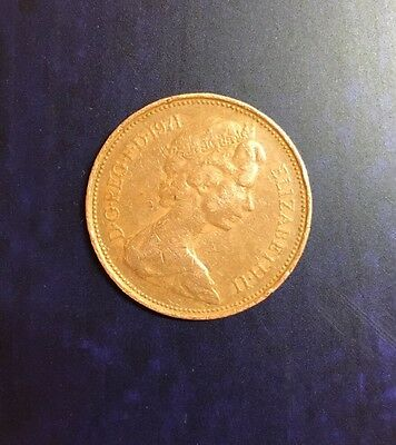 2p Coin 1971 New Pence Two Pence