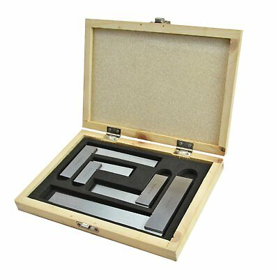 Faithfull FAIESSET4 4 piece engineers squares boxed set  50, 75, 100 & 150mm