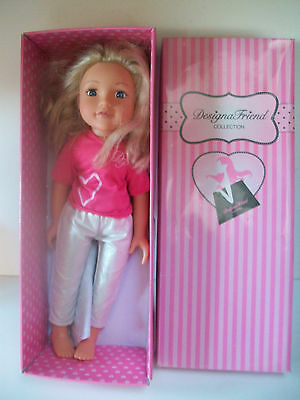Chad Valley Blonde Hair Designer Doll Designa Friend Collection 17 Inches