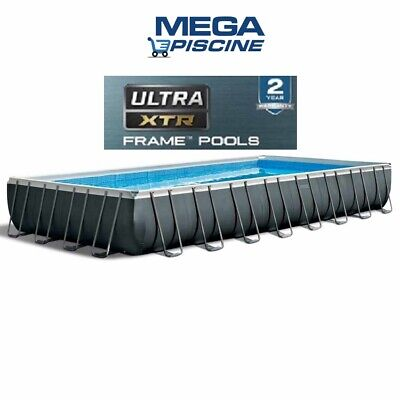Piscina Fuoriterra Rettangolare 28372 Intex 975 X 488 X 132  Full Optional !!!