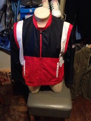 Vintage Fila Jacket Tracksuit 1980s Made In ITALY Small XS