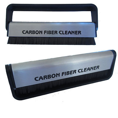 Vinyl Record Carbon Fiber (Fibre) Record Cleaner Cleaning Brush FAST n FREE AU