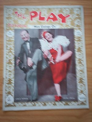 THE PLAY PICTORIAL Issue 380 Nice Goings On - Leslie Henson, Zelma O'Neal