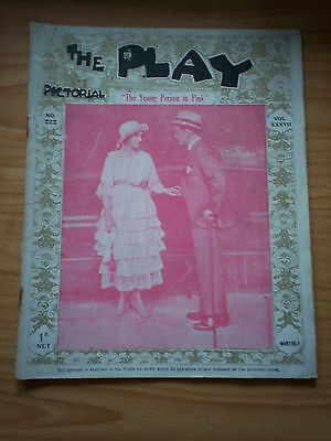 THE PLAY PICTORIAL Issue 222 The Young Person in Pink