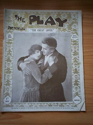 THE PLAY PICTORIAL Issue 226 The Great Lover
