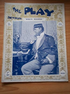 THE PLAY PICTORIAL Issue 210 Who's Hooper - WH Berry