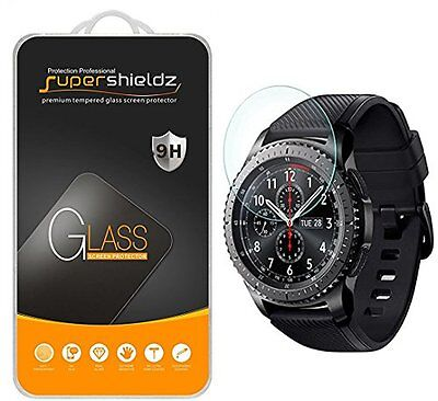 [3-Pack] Samsung Gear S3 Frontier / Classic Tempered Glass Screen Protector (...