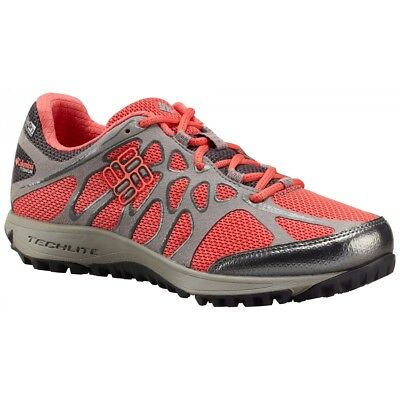 Chaussure De Trail Columbia Conspiracy Titanium Outdry Wild Melon Coral Glow