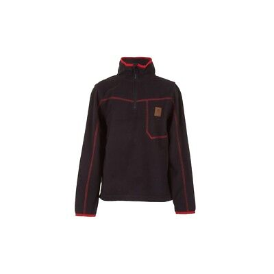 Polaire Rip Curl Jr Micro Fleece 1/2z Jet Black