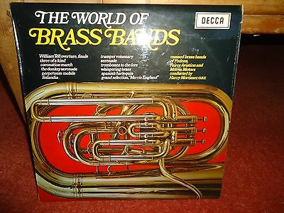 The World Of Brass Bands LP